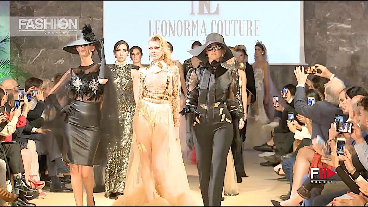 [VIDEO] - LEONORMA Couture Spring 2020 Marbella - Fashion Channel 8