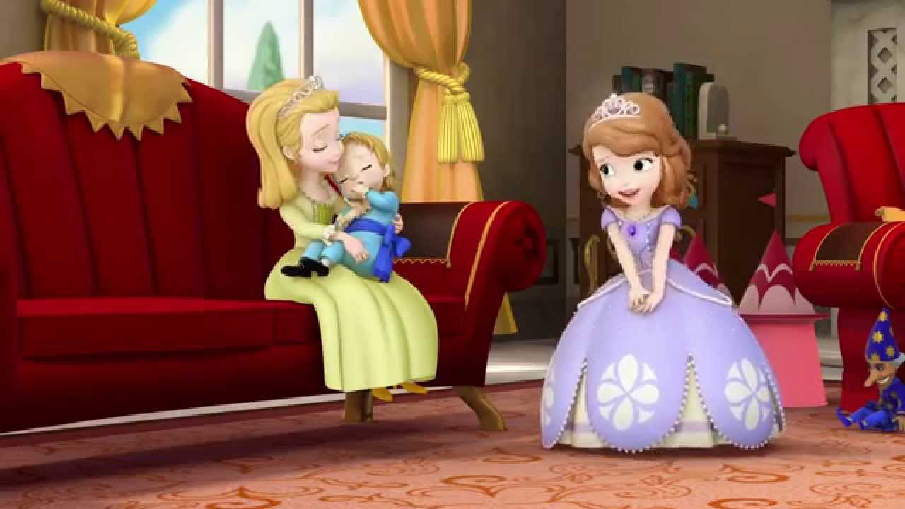 Cute Baby With Parents Wallpaper Sofia The First Sisters And Brothers Youtube
