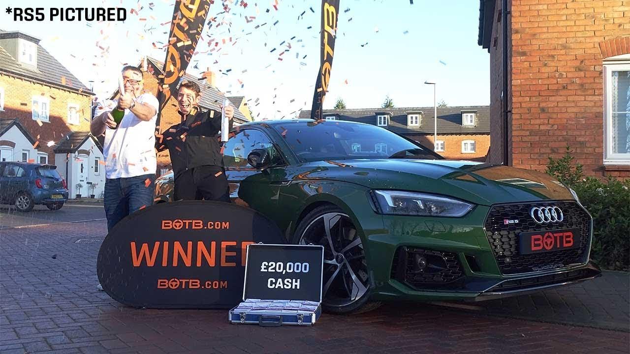Winner Week 47 2017 Chris Sleight Audi Rs4 Avant 20 000 Nov 20Th Nov 26Th 2017