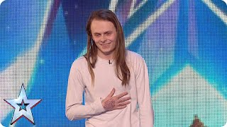 Exclusive preview: will rock-singer Aaron melt the Judges