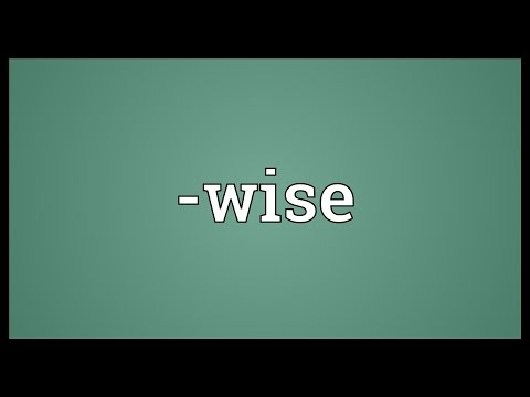 -wise Meaning