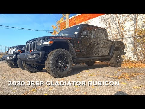 2020 Jeep Gladiator Rubicon Walkaround Review | #JeepGladiator