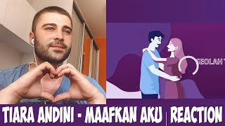 Download lagu Tiara Andini - Maafkan Aku #TerlanjurMencinta (Official Lyric Video) | REACTION