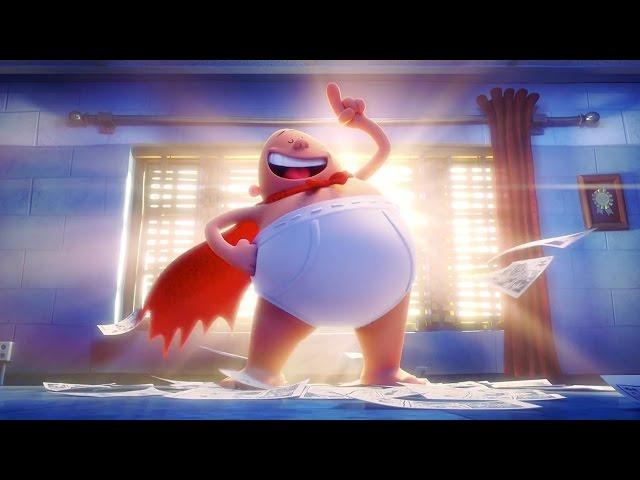 Captain Underpants The First Epic Movie (2017) - Trailer 1