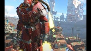 Реактивный ранец в Fallout 4 тони старк завидует