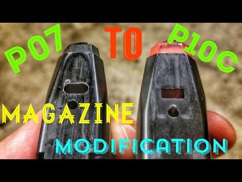 P07 to P10c magazine conversion