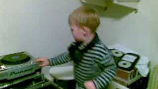 DJ MARK ROCO 30 month old
