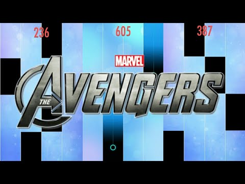 the-avengers---main-theme-in-piano-tiles-2-!!!