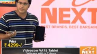 Videocon VA75K 7-inch Voice Calling Tablet - Black