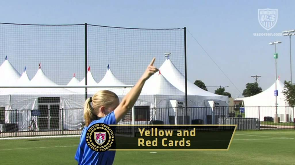 US Soccer Referee Signals