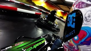 Indoor E-Kartbahn--Sensadrom--Flugfeld Böblingen--2h Firmen Event--GoPro Hero 3+