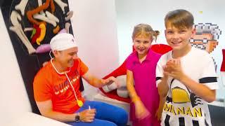 Canção de Boo Boo - canção para crianças | Canções infantis | Five Kids