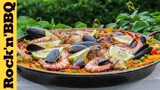 Paella With Seafood And Chicken | Rock'n'bbq Season 1