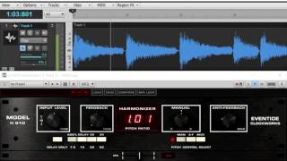 eventide h910 harmonizer plug in chorus and bend to pitch