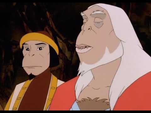 Смотреть онлайн бесплатно король обезьян мультфильм