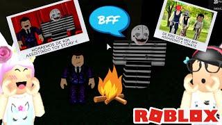 Roblox: ELE FICOU AMIGO DO ASSASSINO NO ACAMPAMENTO DO TERROR!! (Camping 2)