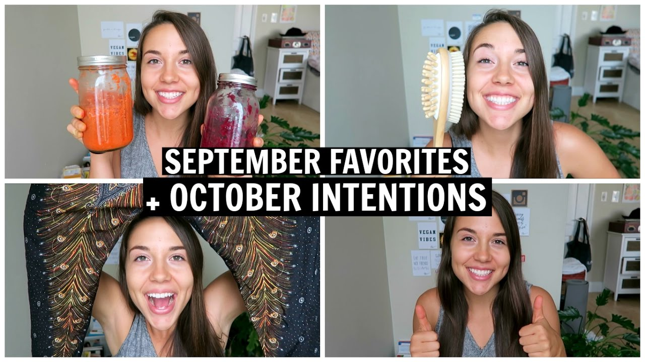 My September Favorites + October Intentions