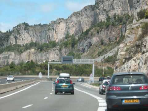 A75 Motorway Southern France Photos