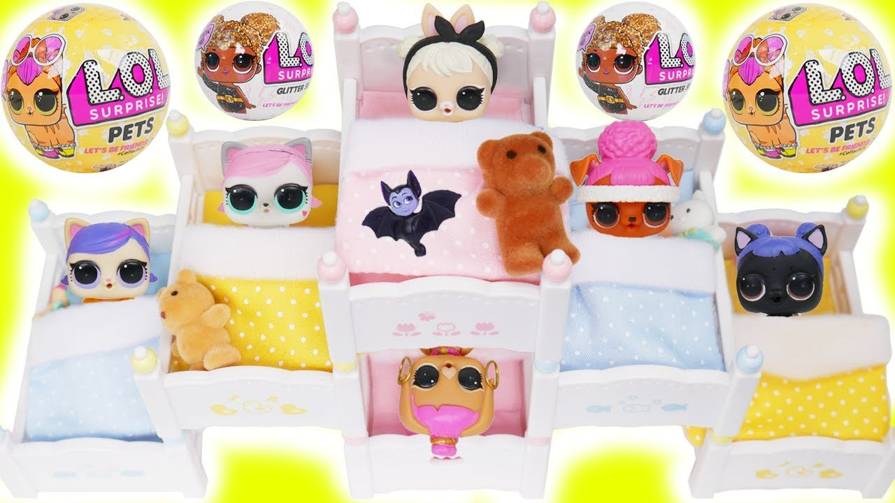 Lol Surprise Doll Baby Pets Bunk Beds Youtube