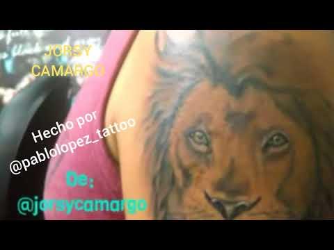 El León De Judá Tatuaje De Jorsy Youtube