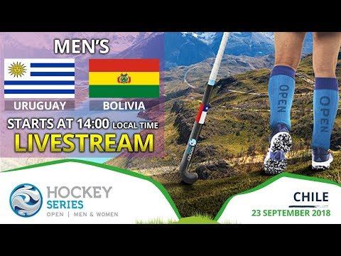 Uruguay v Bolivia | 2018 Men's Hockey Series Open | FULL MATCH LIVESTREAM