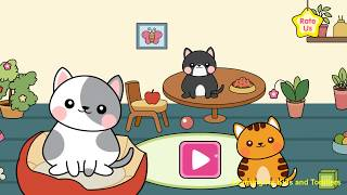 My Cat Town - Free Pet Games for Girls & Boys [Ages 8 & Under] - Android