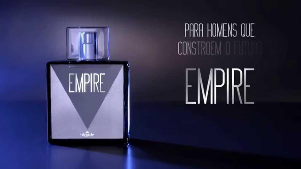 f4e189f10cd Hinode - Empire o novo perfume masculino da Hinode - YouTube