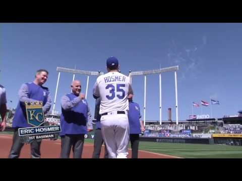 Royals starters introduced