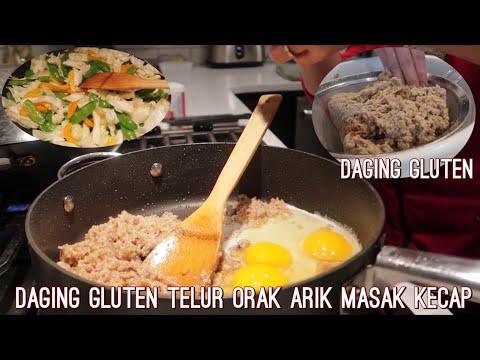 masak-kecap-daging-gluten-telur-orak-arik- -papa-&-mama-suka-sekali- -bikin-daging-vegetarian