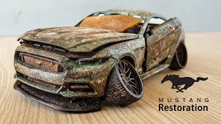 Ford Mustang Gt - Amazing Restoration Abandoned Model Car