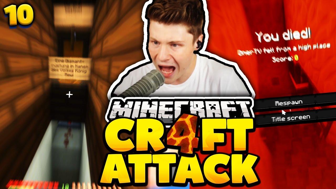 Dner joonge  LAVA FALLE.. DAS GIBT RACHE! | Minecraft Craft Attack 4 #10 | Dner ...