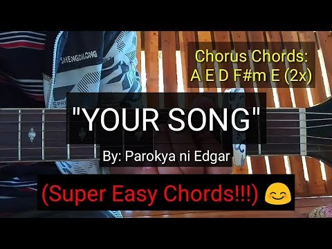 Your Song - Parokya Ni Edgar (Guitar Tutorial)