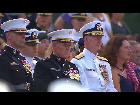 DFN:Marine Barracks Washington Sunset Parade WASHINGTON, DC, UNITED STATES 07.03.2018