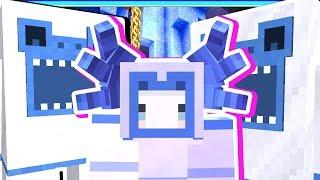 【Minecraft | 暮光森林】#10 小雪怪叛逆了居然把王給????終於收集全套雪裝備啦✌