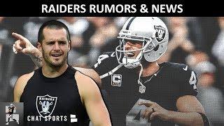 Raiders Need Derek Carr? Raiders Rumors: Incognito Supports Carr, Rod Marinelli, Sign QB Case Keenum