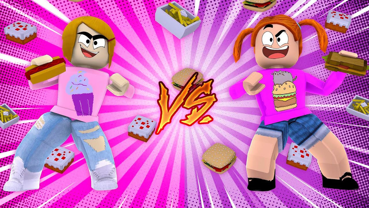 Roblox Food Fight With Molly Youtube
