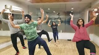 Combination amrit maan bhangra | Bhangra combination amrit maan | combination dance | fit camp gym