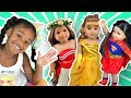 Baby Doll Dress Up! American Girl Costumes