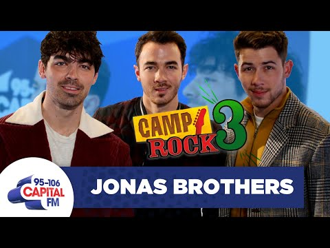 Jonas Brothers Talk 'Camp Rock 3' & Dream Collabs 🎸 | FULL INTERVIEW | Capital