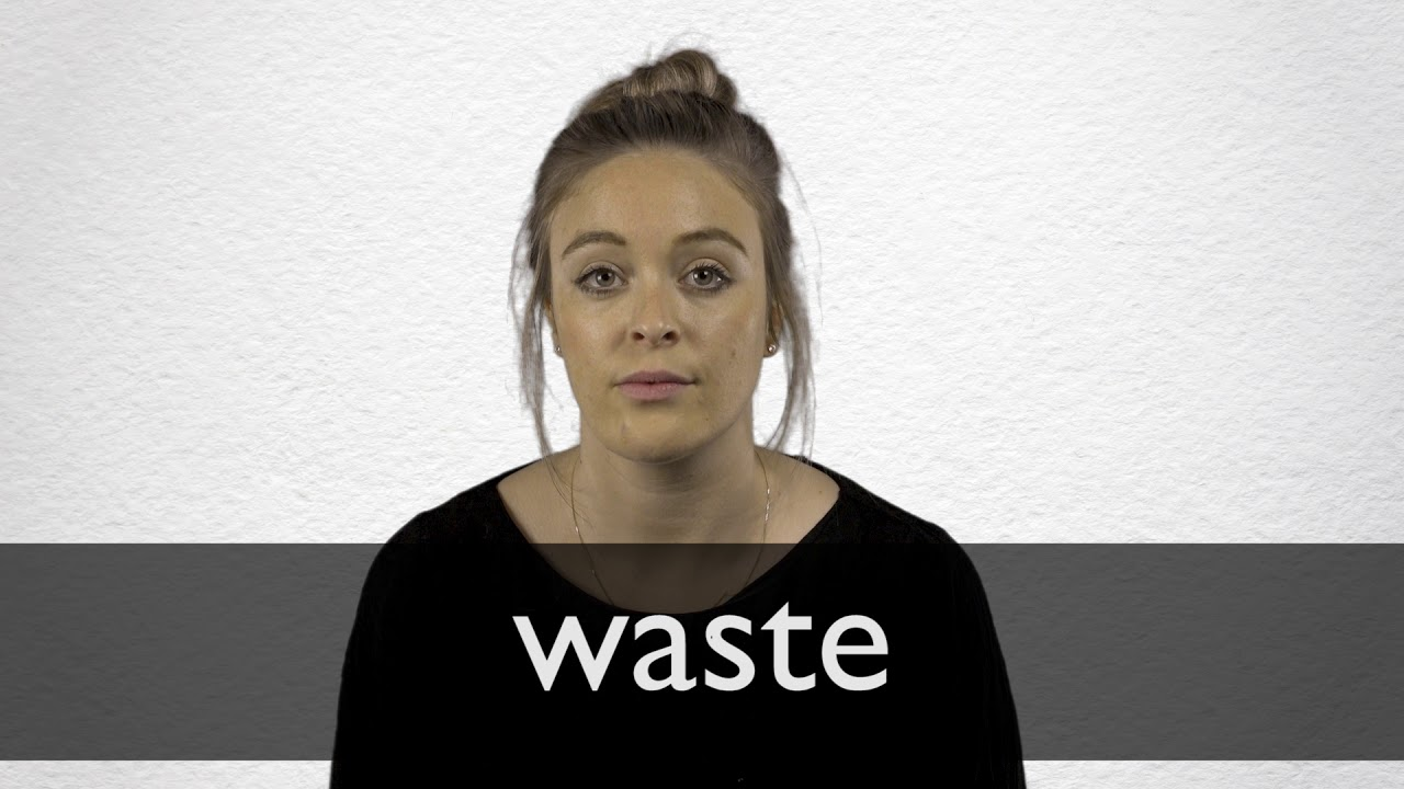 Waste definition and meaning | Collins English Dictionary