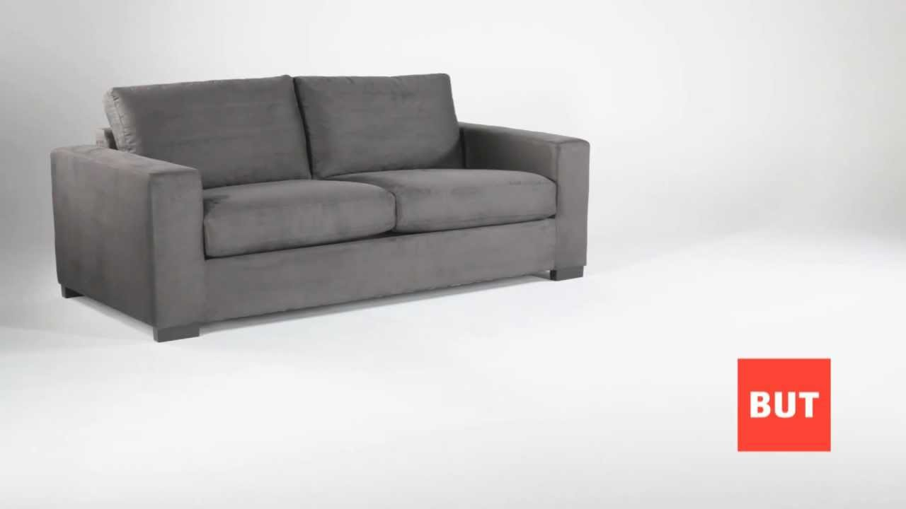 Canapé convertible 3 places design ISADORA // Catalogue BUT 2012 ...