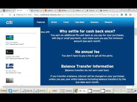 Create Account In Citibank