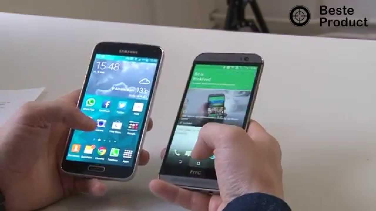 HTC One M8 vs. Samsung Galaxy S5 » BesteProduct - YouTubeHtc One Max Vs Galaxy S5