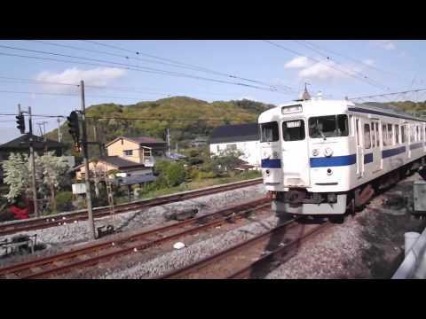 415系 通過 市布経由長崎行き