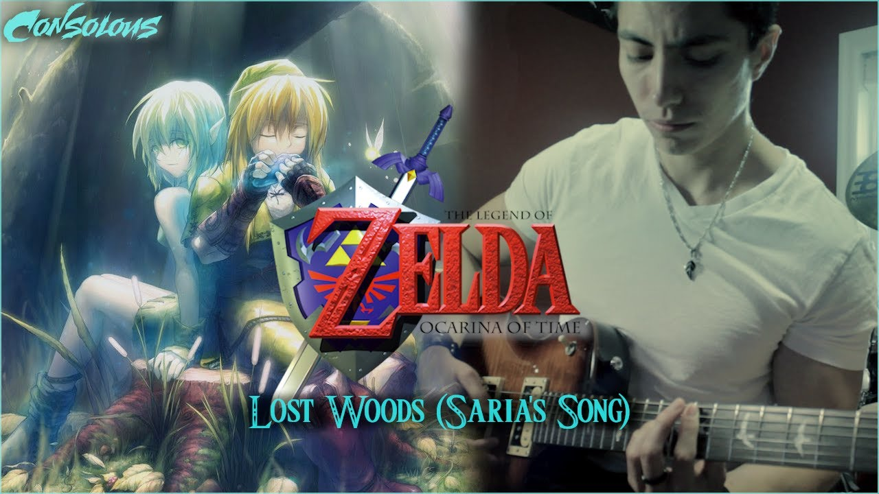 """The Legend Of Zelda: Ocarina Of Time - """"Lost Woods"""" (Saria ..."""