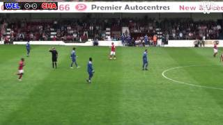 Welling United V Charlton Athletic Pre Season Friendly 9th July 2011