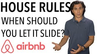 Gambar cover Airbnb House Rules : When Should You Let it Slide?? (real life example)