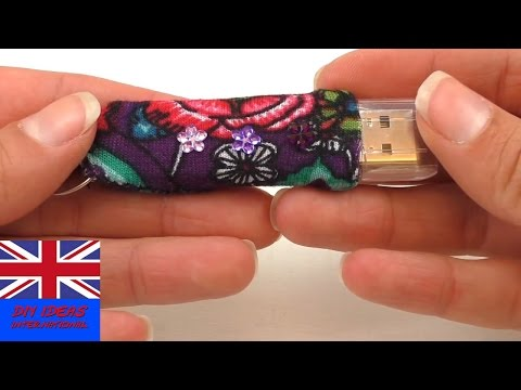 DIY USB Flash Drive –  Easy DIY ideas – How to make your USB look better