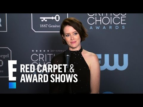 Claire Foy Has One of Her Award Trophies Where?  E Red Carpet & Award Shows