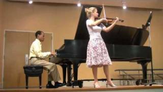 """Bethena: A Concert Waltz"" by Scott Joplin (arr. Perlman for violin and piano)"